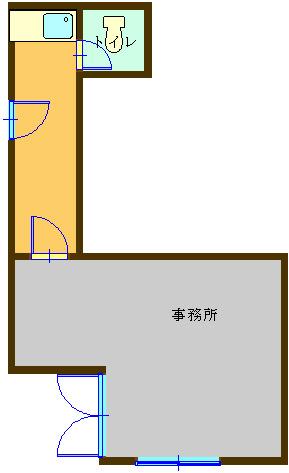 物件No. te-005 の間取り図